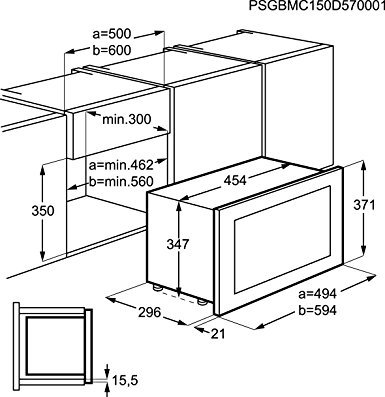 aeg hg mc1753e m mikrowellen test 2018 2019. Black Bedroom Furniture Sets. Home Design Ideas