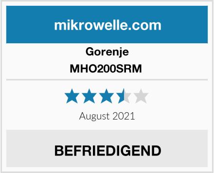 Gorenje MHO200SRM  Test