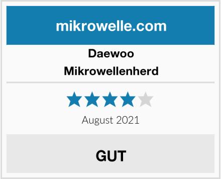 Daewoo Mikrowellenherd Test