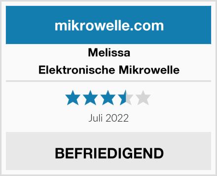 Melissa Elektronische Mikrowelle Test