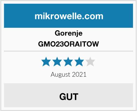 Gorenje GMO23ORAITOW Test
