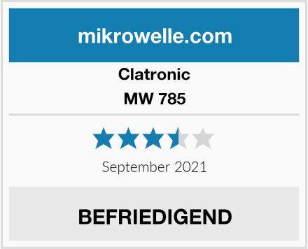 Clatronic MW 785 Test
