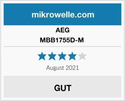AEG MBB1755D-M  Test