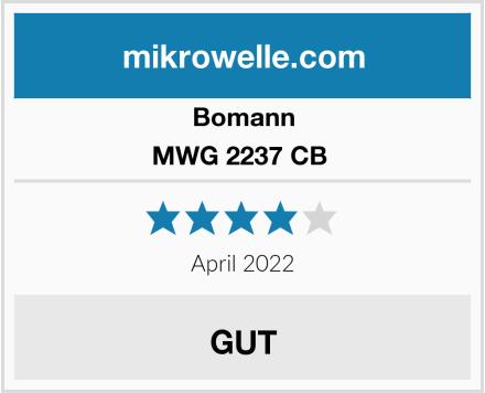 Bomann MWG 2237 CB  Test