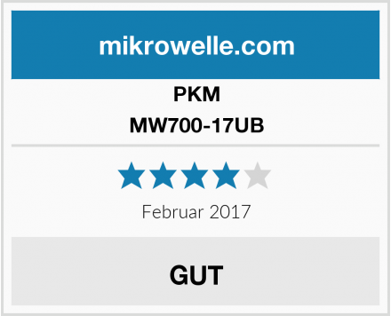 PKM MW700-17UB Test