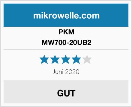 PKM MW700-20UB2 Test