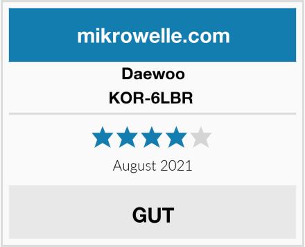 Daewoo KOR-6LBR  Test