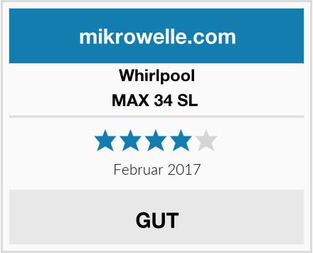Whirlpool MAX 34 SL  Test