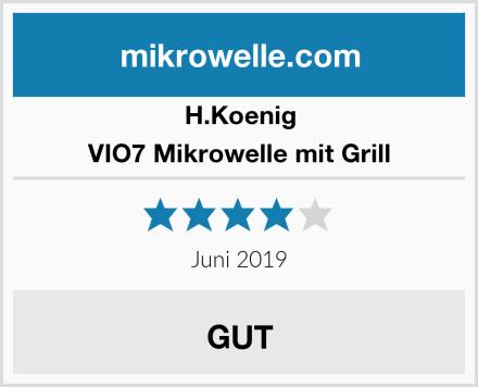 H.Koenig VIO7 Mikrowelle mit Grill Test