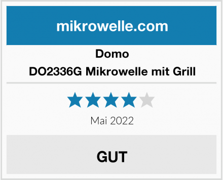 Domo DO2336G Mikrowelle mit Grill Test