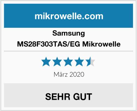 Samsung MS28F303TAS/EG Mikrowelle Test