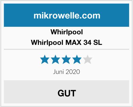 Whirlpool Whirlpool MAX 34 SL Test