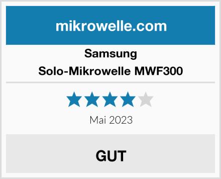 Samsung Solo-Mikrowelle MWF300 Test