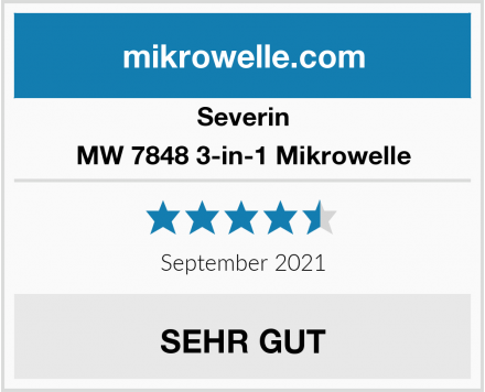 Severin MW 7848 3-in-1 Mikrowelle Test