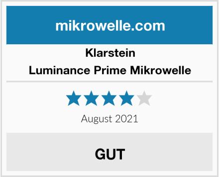 Klarstein Luminance Prime Mikrowelle Test