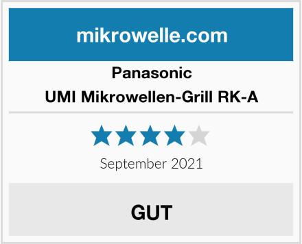 Panasonic UMI Mikrowellen-Grill RK-A Test