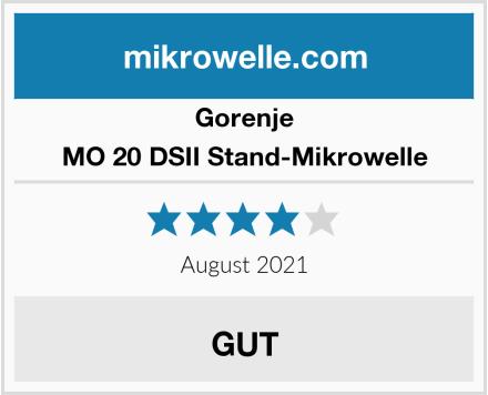 Gorenje MO 20 DSII Stand-Mikrowelle Test