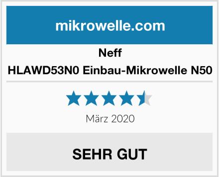 Neff HLAWD53N0 Einbau-Mikrowelle N50 Test