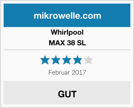 Whirlpool MAX 38 SL Test