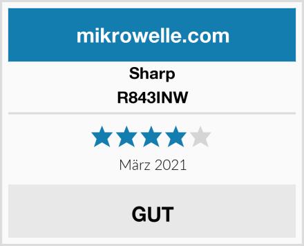 Sharp R843INW Test
