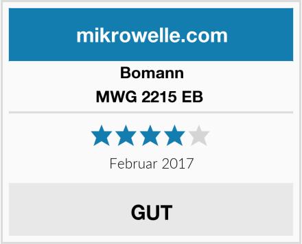 Bomann MWG 2215 EB  Test