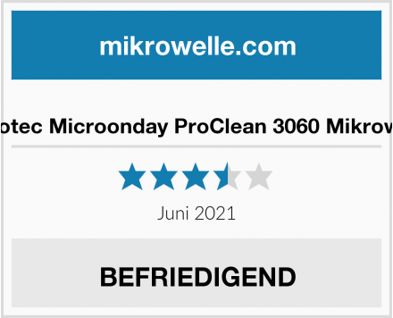 Cecotec Microonday ProClean 3060 Mikrowelle Test