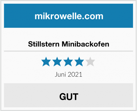 Stillstern Minibackofen Test