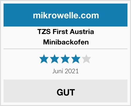 TZS First Austria Minibackofen Test