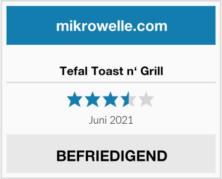 Tefal Toast n' Grill Test