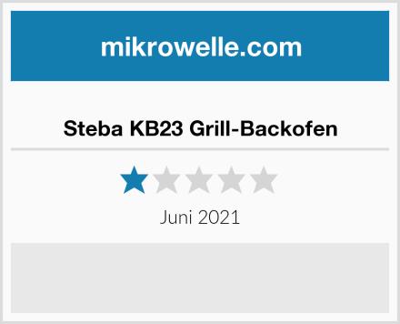 Steba KB23 Grill-Backofen Test