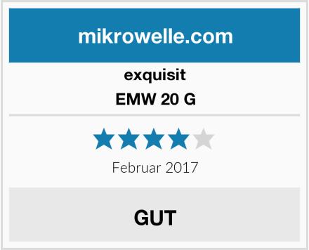 exquisit EMW 20 G Test